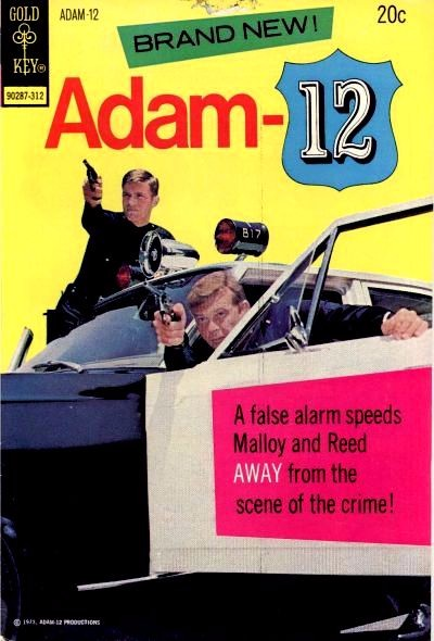 Couverture de Adam-12 -1- (sans titre)
