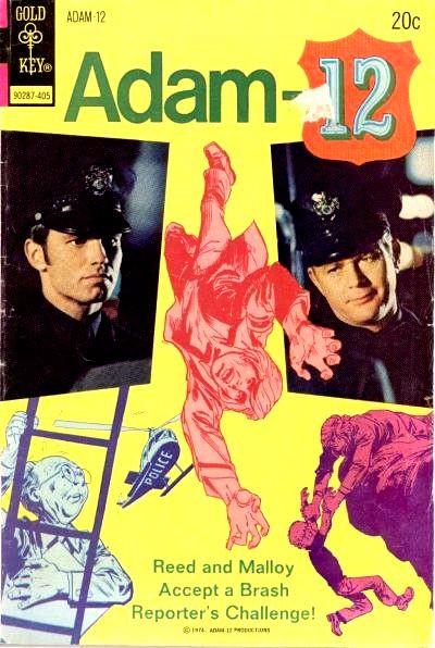 Couverture de Adam-12 (Gold Key - 1973) -3- (sans titre)