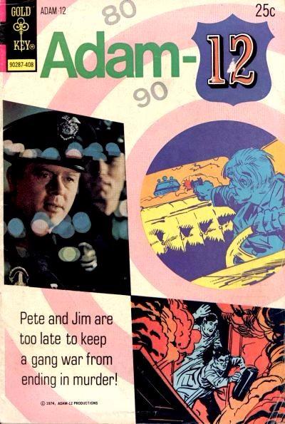 Couverture de Adam-12 (Gold Key - 1973) -4- (sans titre)