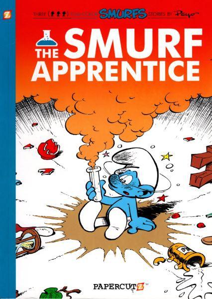 Couverture de SMURFS (les Schtroumpfs en anglais) -8- The Smurf Apprentice