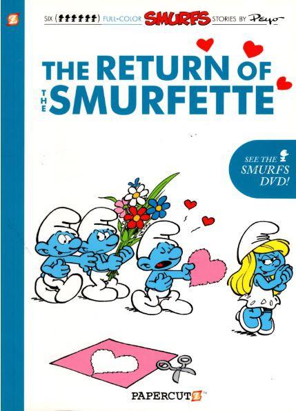 Couverture de SMURFS (les Schtroumpfs en anglais) -10- The Return of the Smurfette
