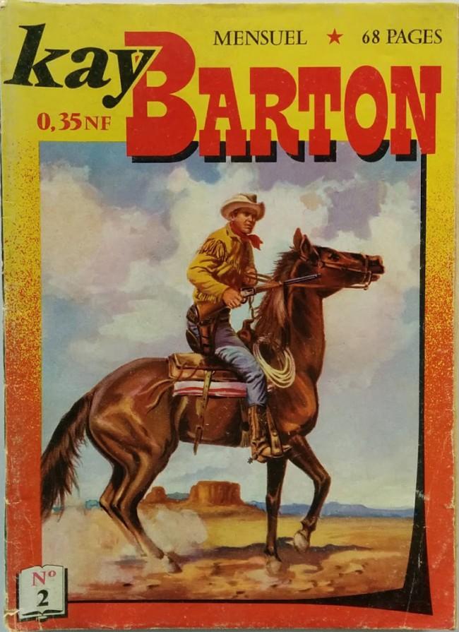 Couverture de Kay Barton -2- Les diables de l'aube