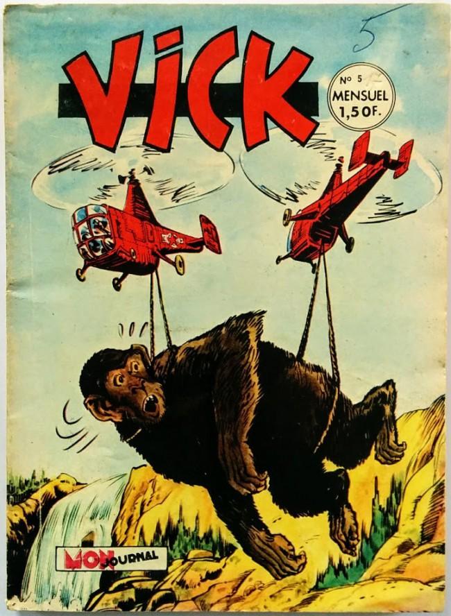 Couverture de Vick -5- L'enfer de Zelath
