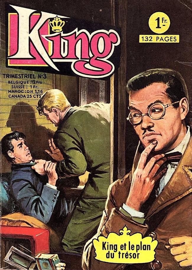Couverture de King (Arédit - 1re série) -3- King et le plan du trésor
