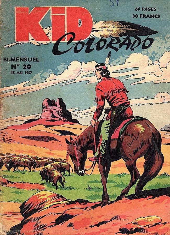 Couverture de Kid Colorado -20- Le mystère des bisons