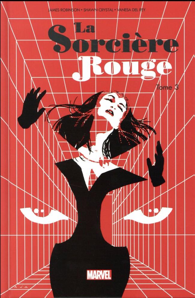 Couverture de La sorcière Rouge -3- Tome 3