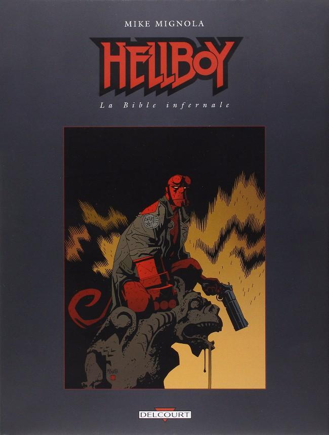 Couverture de Hellboy (Delcourt) -HS- La Bible infernale