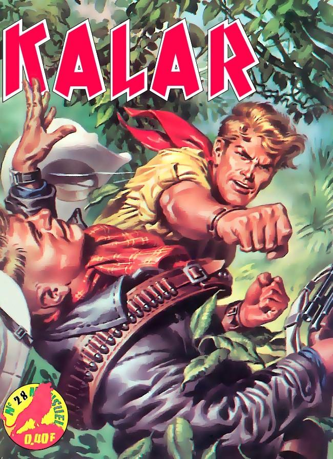 Couverture de Kalar -28- Le démon rayé