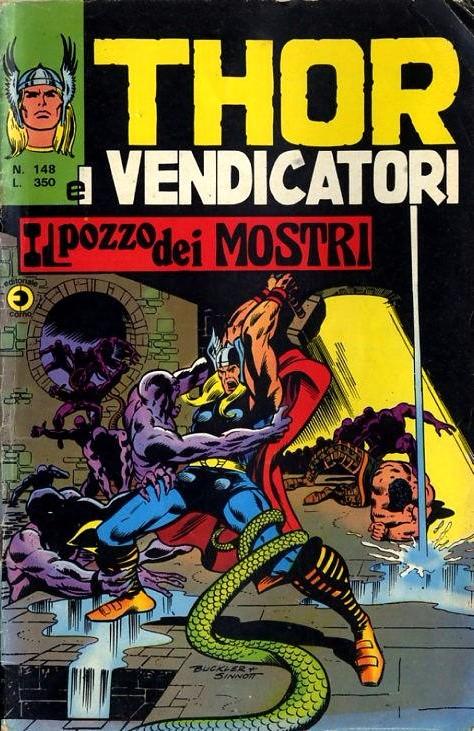 Couverture de MiticoThor (Il) -148- Il Pozzo dei Mostri