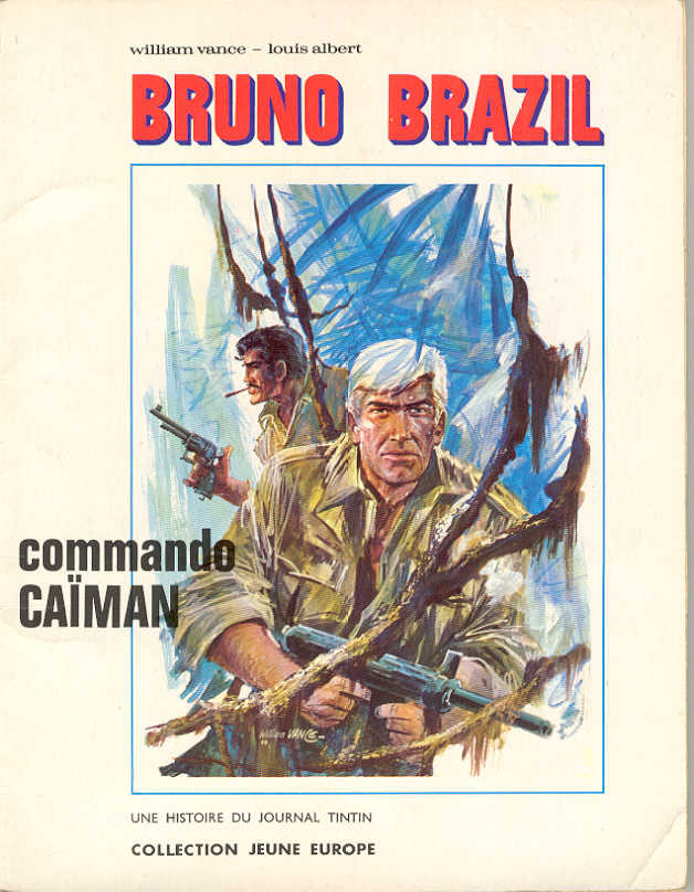 Couverture de Bruno Brazil -2- Commando Caïman