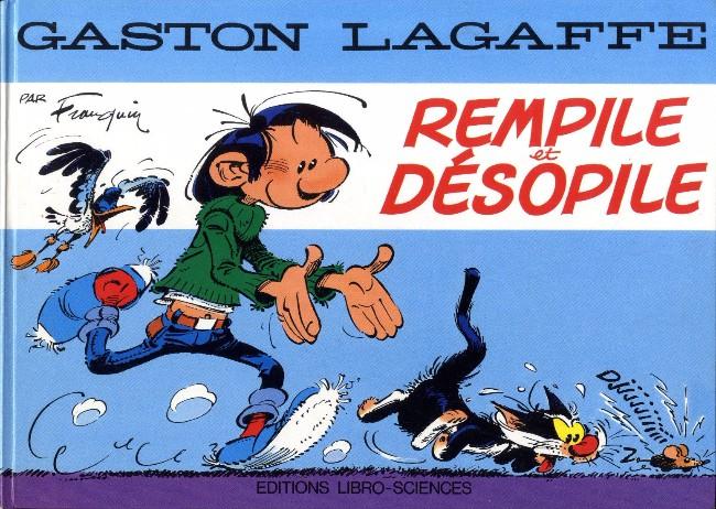 Couverture de Gaston (Hors-série) -PUB- Rempile et désopile