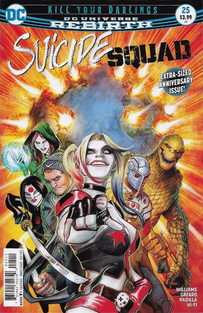 Couverture de Suicide Squad (2016) -25- Kill Your Darlings, Conclusion