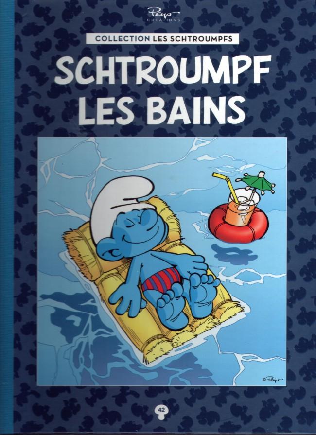 Couverture de Les schtroumpfs - La collection (Hachette) -42- Schtroumpf les Bains
