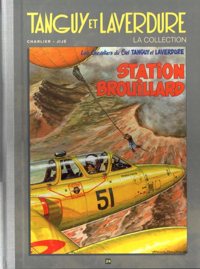 Couverture de Tanguy et Laverdure - La Collection (Hachette) -24- Station brouillard