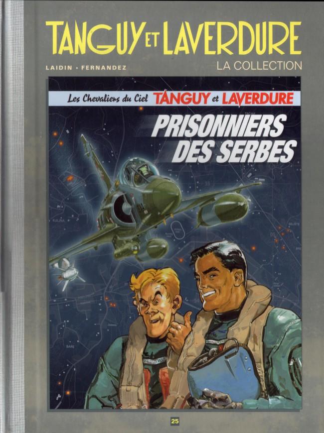 Couverture de Tanguy et Laverdure - La Collection (Hachette) -25- Prisonniers des serbes