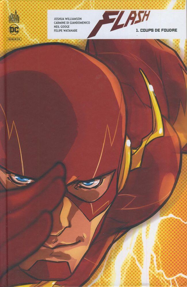 Couverture de Flash Rebirth -1- Coups de foudre