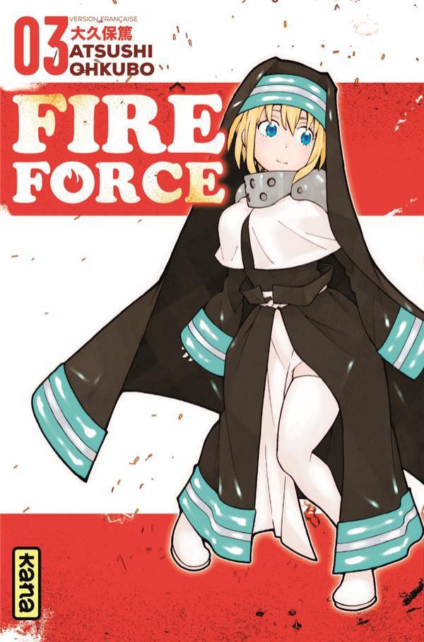 Couverture de Fire Force -3- Tome 3