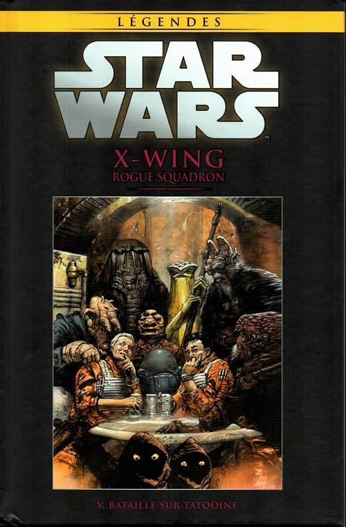 Couverture de Star Wars - Légendes - La Collection (Hachette) -4966- X-Wing Rogue Squadron - V. Bataille sur Tatooïne