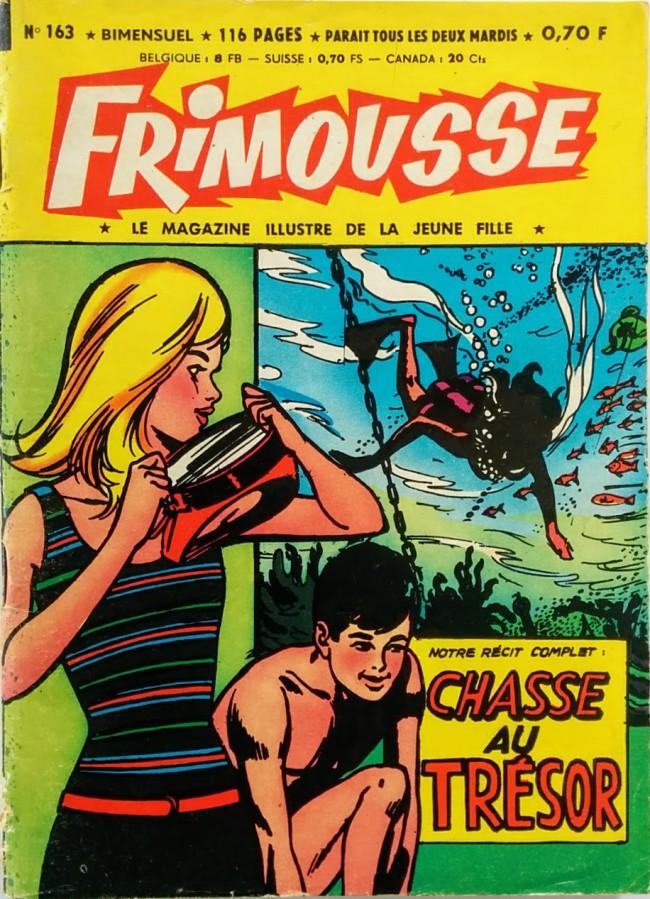 Couverture de Frimousse et Frimousse-Capucine -163- Nora, la fille du shériff