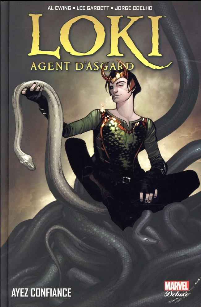 Couverture de Loki : Agent d'Asgard -1- Ayez confiance