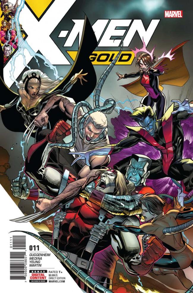 Couverture de X-Men: Gold (2017) -11- En'Kane: Part 2