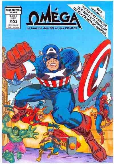 marvel comics en francais