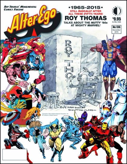 Couverture de (DOC) Alter Ego Vol 3 -136- 1965-2015 Still Rascally After Al These Fifty Years