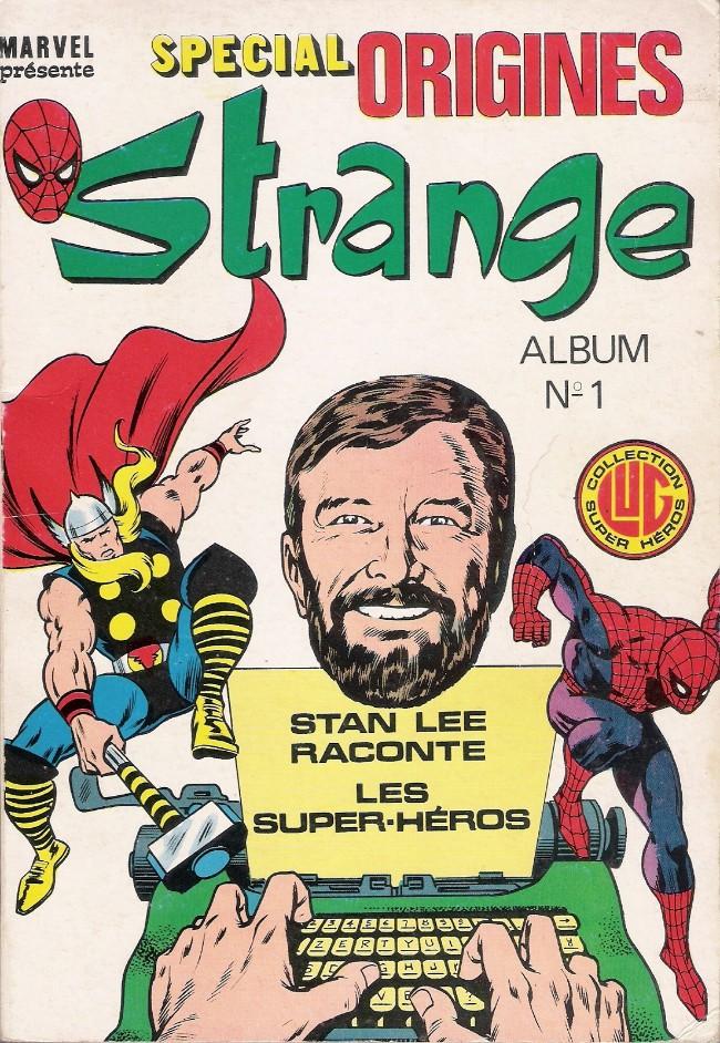 Couverture de Strange (Spécial Origines) -Rec01- Album N°1
