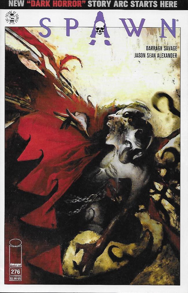 Couverture de Spawn (1992) -276- Dark Horror, Part 1