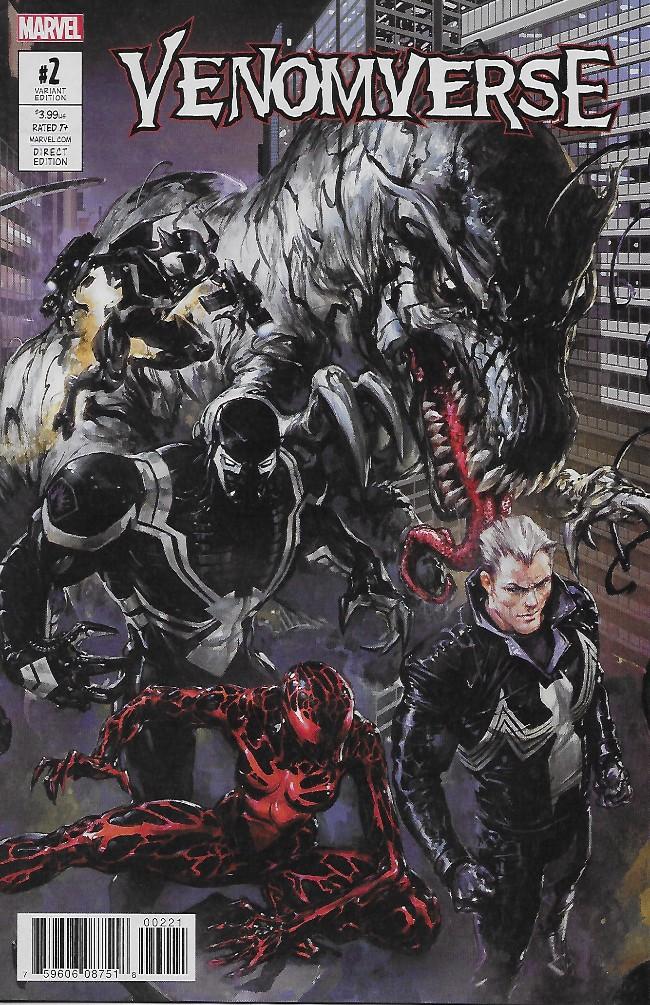 Couverture de Venomverse (2017) -2A- Issue #2