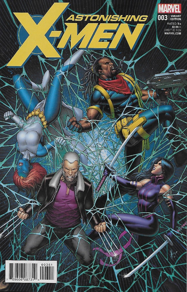 Couverture de Astonishing X-Men (2017) -3D- Life of X: Part Three