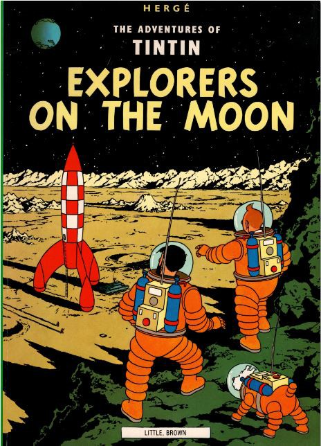 Couverture de Tintin (The Adventures of) -17- Explorers on the Moon