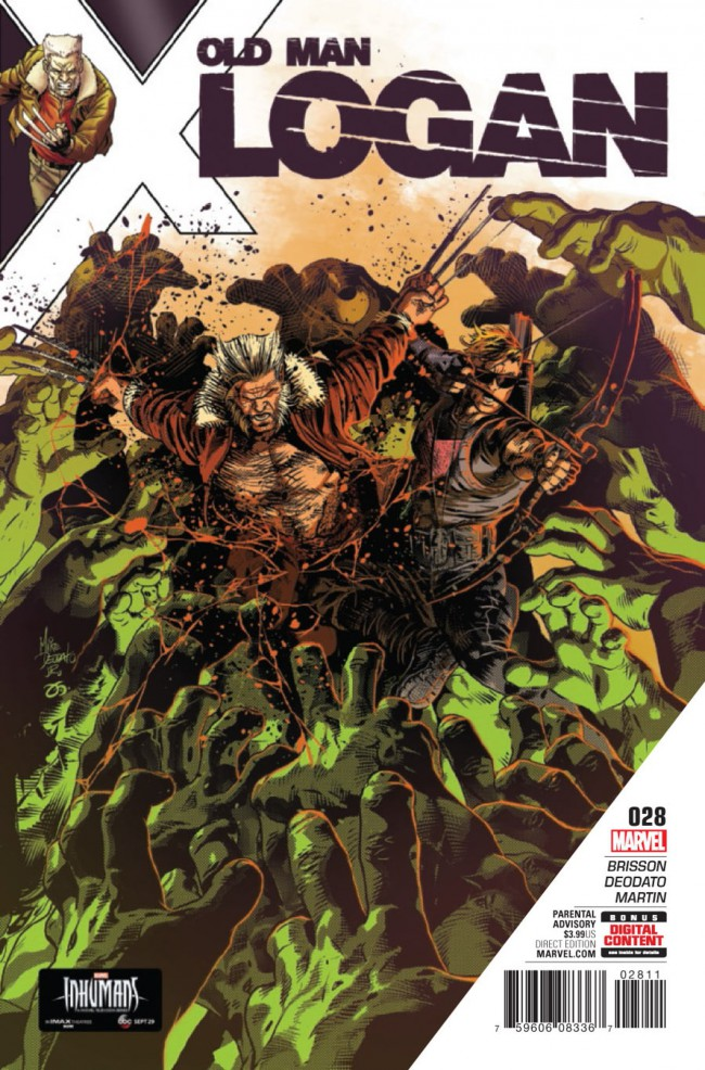 Couverture de Old Man Logan (2016) -28- Days of Anger: Part Four