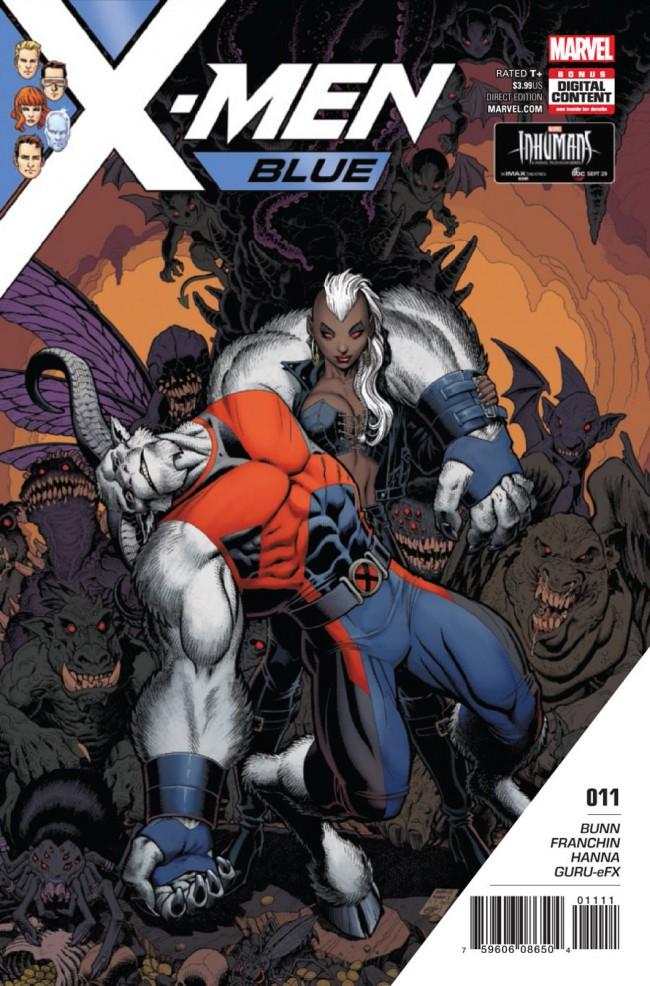 Couverture de X-Men: Blue (2017) -11- Toil and Trouble: Part 2
