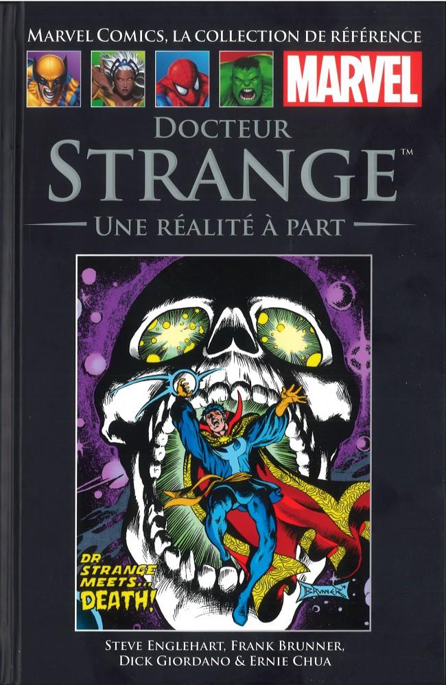 Couverture de Marvel Comics - La collection (Hachette) -94XXIV- Docteur Strange - Une Réalité à Part