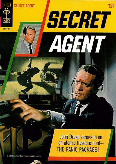 Couverture de Secret Agent (Gold Key - 1966) -1- (sans titre)