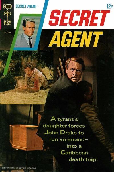 Couverture de Secret Agent (Gold Key - 1966) -2- (sans titre)