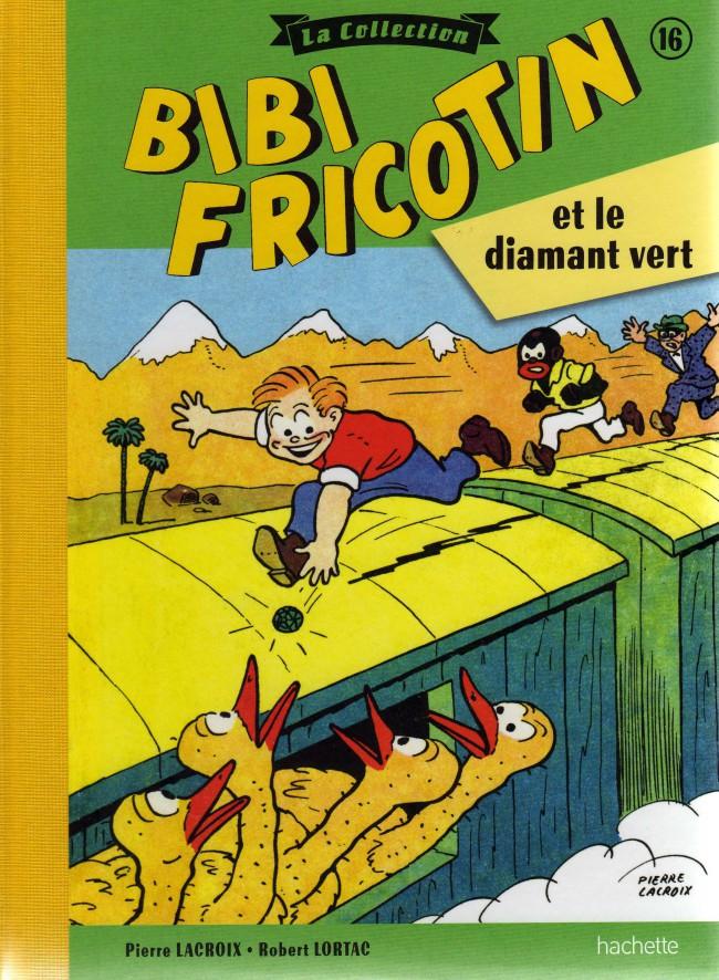 Couverture de Bibi Fricotin (Hachette - la collection) -16- Bibi Fricotin et le diamant vert