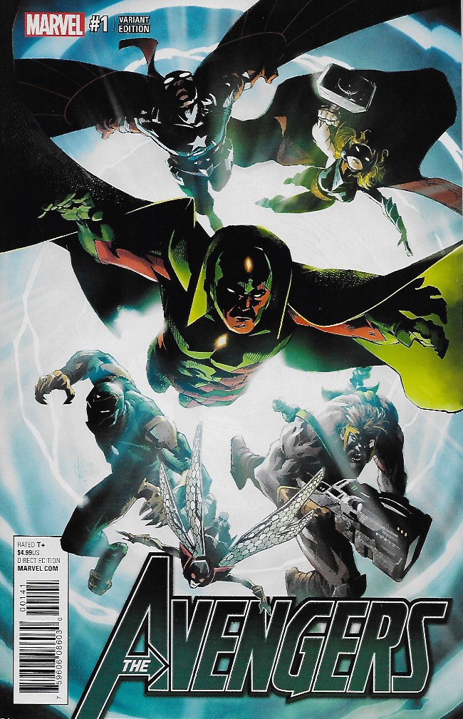 Couverture de Avengers (2017) -1VC- Issue #1