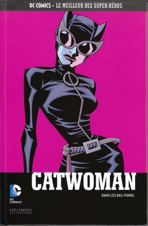 Couverture de DC Comics - Le Meilleur des Super-Héros -52- Catwoman- Dans les bas-fonds