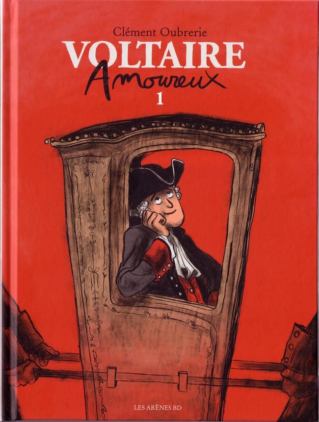 Couverture de Voltaire amoureux -1- Tome 1