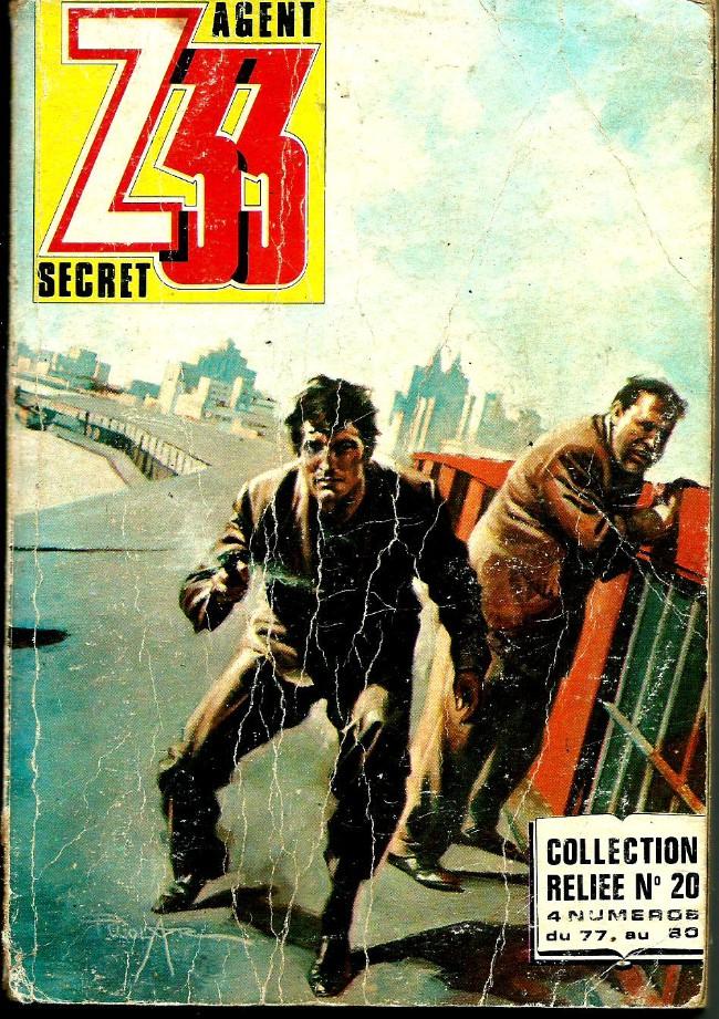 Couverture de Z33 agent secret -Rec20- Collection reliée N°20 (du n°77 au n°80)