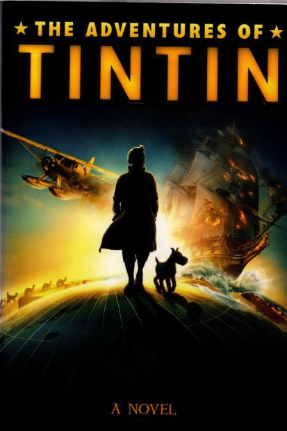 Couverture de Tintin (The Adventures of) -C4 R- The Adventures of Tintin - A Novel