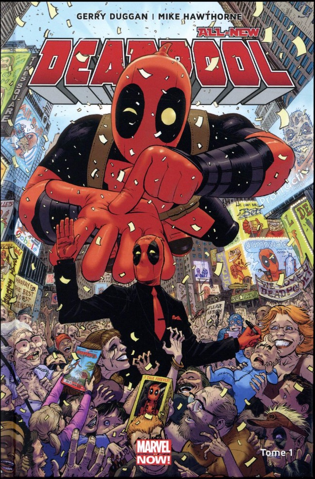 Couverture de All-New Deadpool (Marvel Now!) -1- Le Millionnaire disert