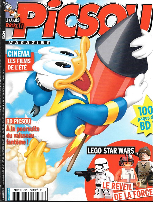 Couverture de Picsou Magazine -521- Le trésor du hollandais volant