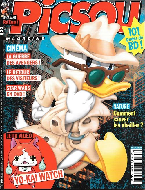 Couverture de Picsou Magazine -520- Le perroquet qui comptait