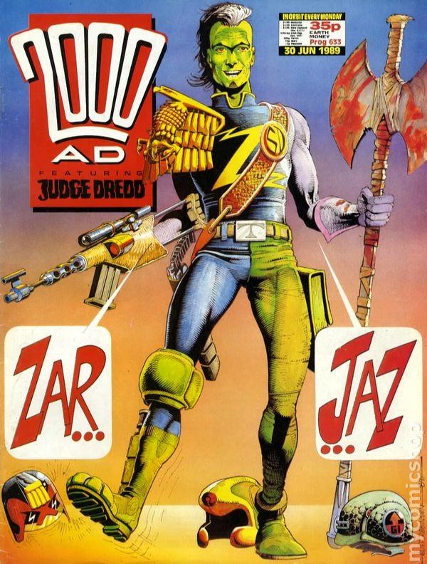 Couverture de 2000 AD (1977) -633- 2000 AD
