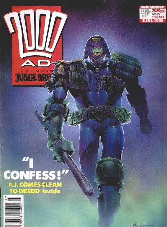 Couverture de 2000 AD (1977) -634- 2000 AD