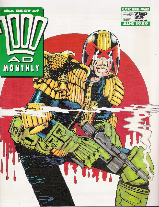 Couverture de Best of 2000AD Monthly (The) (1985) -47- Judge Dredd
