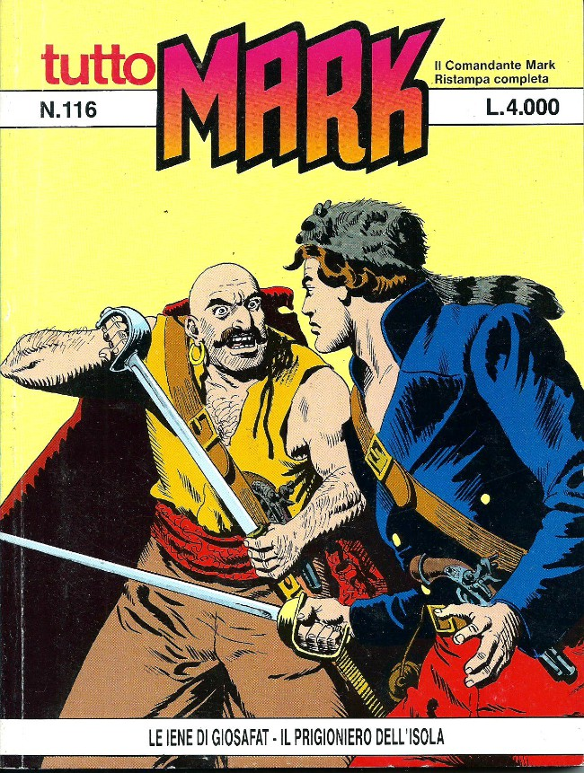 Couverture de Mark (Tutto) -116- Le iene di giosafat